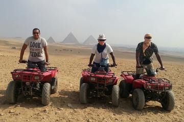 Recorrido de 1,5 horas en quad por las pirámides de Guiza desde El...