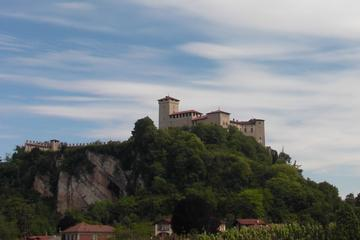 Trip to the Angera castle, the dolls' museum and Arona from lake Maggiore and Orta