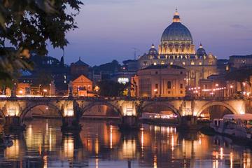 Recorrido nocturno por Roma con pizza y helado