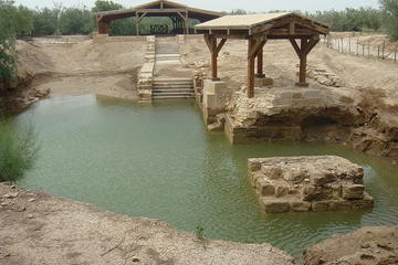 Private Amman Airport Layover Tour: The Baptism Site and Jordan River