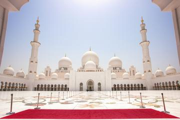 Abu Dhabi Mosque & Ferrari World tour...
