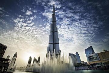 Tour panoramico di un giorno di Dubai con pranzo presso la Fontana