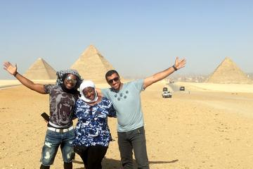 Full day tour Pyramids - Sakkara and Memphis with Lunch