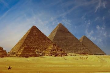 Tour privato di un giorno delle Grandi Piramidi di Giza, Saqqara e