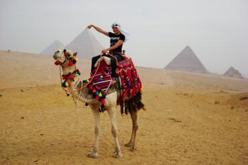 Private Guided Tour to Giza, Sphinx, Saqqara, Memphis and Dahshour with Qualified Egyptologist Guide from Cairo