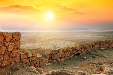 Excursion à Masada et la mer Morte au départ de Tel-Aviv
