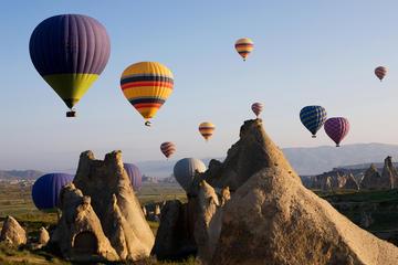 Passeio de balão de ar quente em Capadócia