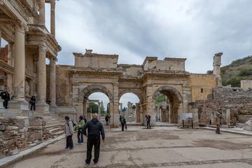 Tour van de ruïnes van Efeze, Huis ...