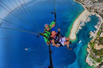 Tandem Paragliding Fly Over Lycia...