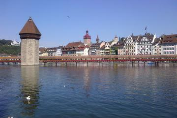4-hour Lucerne City Tour with Private Guide Including Boat Trip on...