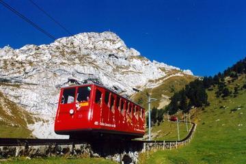 Pilatus-Bergmassiv ab Luzern mit...