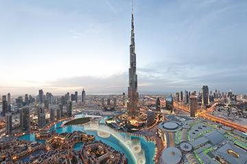 Recorrido por las cinco atracciones principales de Dubái con cena