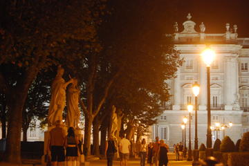 4-Hour Private Night Tour of Madrid