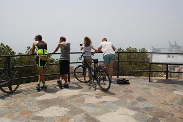 Visite panoramique en vélo: châteaux...