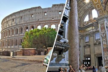 Private Rome Day Tour with Colosseum Piazzas and Sistine Chapel