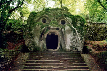 Bomarzo Caprarola and Calcata