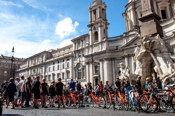 Descubra Roma en un tour en bicicleta...