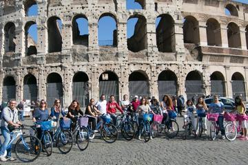 Une journée de visite en vélo de Rome: centre-ville et ses vues...