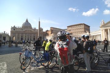 Visite de Rome en vélo, jubilé papal