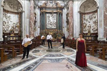 Concierto barroco en Roma y visita de la iglesia de Sant'Agnese en...
