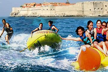 Dubrovnik sea adventure - speed boat trip with beach stops
