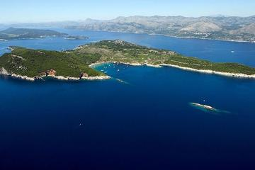 Excursão de lancha particular em Dubrovnik: belezas escondidas das...