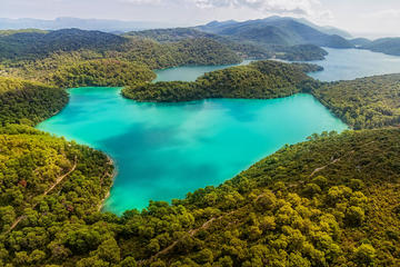 Private Speedboat or Yacht Tour to National Park Mljet Lakes from...