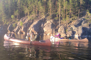 Private Canoe Safari in Kolovesi National Park