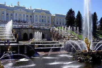Grand Palais Peterhoff et ses parcs...