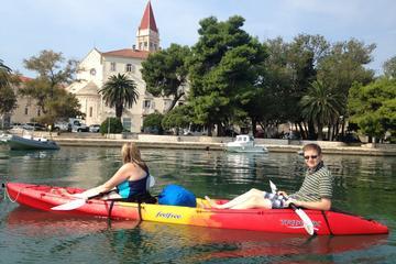 Kayak de mer à Trogir