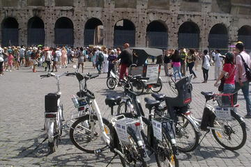 Rome- visite de la ville éternelle en vélo électrique et en petit...