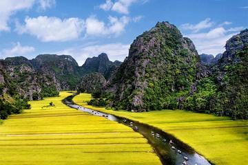 Ganztagesausflug nach Hoa Lu und Tam Coc ab Hanoi