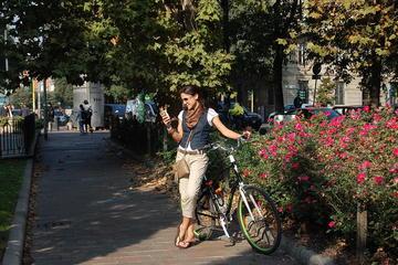 Excursão de bicicleta com tesouros escondidos de Milão