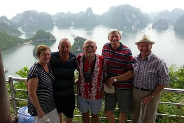 Full-Day Small Group Halong Bay Islands and Caves Tour with Seafood...