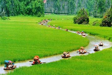 Recorrido en bicicleta ecológico de día completo a Hoa Lu y Tam Coc...