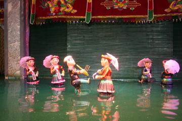 spectacle-de-marionnette-sur-l-eau-et-visite-de-hanoï