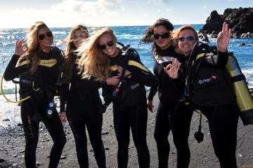 PADI-Sporttauch-Kurs auf Lanzarote