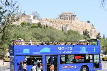 Klassisk hoppa på/hoppa av-rundtur i Aten