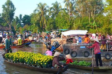 Dagtour naar de drijvende markt Cai Be