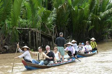 Túneis de Cu Chi privado e Delta do Mekong: excursão guiada de dia...