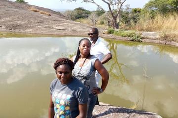 Tour privato di 2 giorni del lago sospeso di Ado Awaye da Lagos