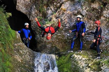 Bled und Bohinj Tal Canyoning Adventure