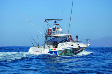Lobos Island Fishing Charter with Lunch and Snorkeling