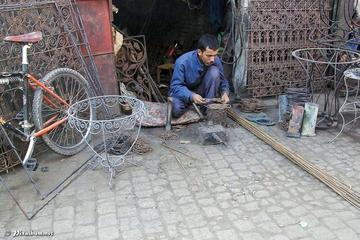 Excursão a pé com artesãos em Marraquexe