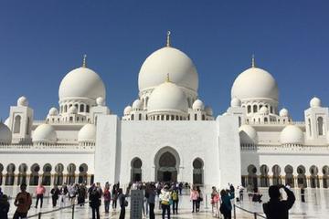 Excursão de Abu Dhabi e de compras com almoço saindo de Dubai