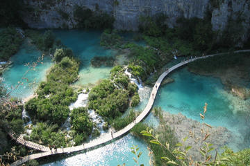 Plitvice Lakes National Park Small-Group Day Trip from Split or Trogir