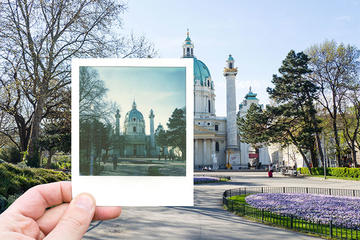 Vienna Vintage Photo Tour With a Polaroid Camera