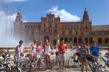 Excursão de bicicleta pelos destaques de Sevilha