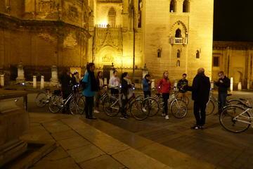 Visite guidée en vélo au coucher du soleil à Séville