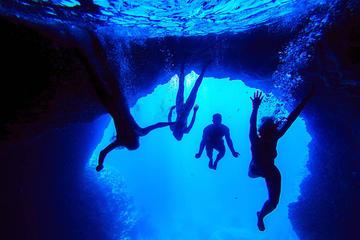 Croisière avec visite de la Grotte bleue et la Grotte Verte et la...